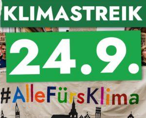 24.9.2021 Globaler Klimastreik - Fridays for future
